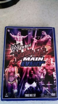 Wwf, wwe Saturday nights main event lots of memori Toronto, M5B 2G9