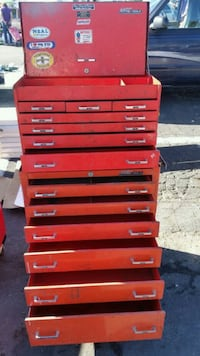 red and black tool chest San Jose, 95111