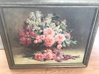 Flower painting! Like new!  Moving out of state ! Anchorage, 99502