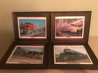 three brown wooden framed paintings Brookeville, 20833