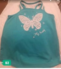 teal and white floral tank top United States
