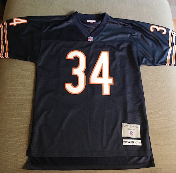 eac54f15098 Used Walter Payton Mitchell and Ness Chicago Bears Jersey! for sale in  Chicago - letgo
