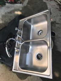 Stainless steel sink with faucet Sugar Hill, 30518