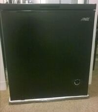 black and gray compact refrigerator Laurel, 20707