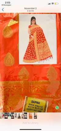Indian dress(negotiable) Aldie, 20105