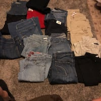 Jeans galore! Good brands, sizes vary 3-10 Tampa, 33604