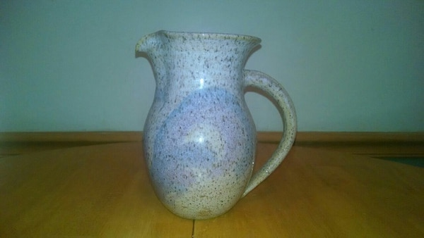 Wizard of clay water pitcher