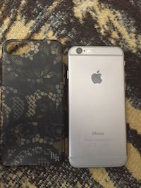Silver iphone 6 with black case unlocked for any carrier  Knoxville, 37917