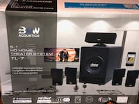 BNW Acoustics RS-9 Home Theatre System Silver Spring, 20904