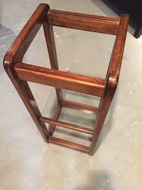 Glass Top Plant Stand Pitt Meadows