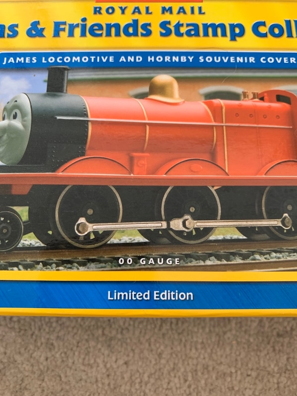 Hornby R9687 Thomas & Friends 'James The Red Engine Stamp Collection 633de4e9-8c23-41f4-a53b-2dade37c3fce
