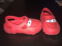 Toddler size 9/10 CARS crocks  Kettering, 45440