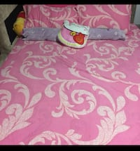 Queen size bed frame & mattress Hougang