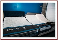 blue and black bed mattress Midland