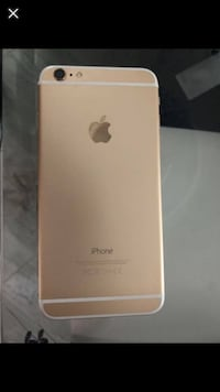 iphone 6plus gold 64gb with a box