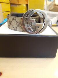 Real Gucci belt with box