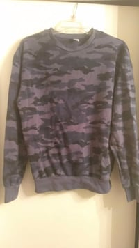 Navy camouflage sweater Dallas