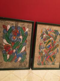 Asian folk art paintings (price reduced) Leesburg, 20176