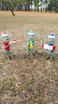 3 blind mice Christmas  lawn decorations Vanceboro, 28586