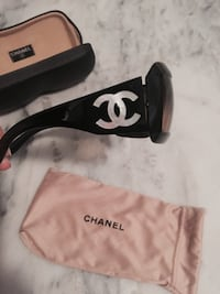 Chanel black sunglasses Saanich, V8Y 2W6