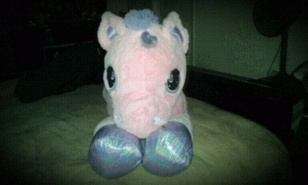 Used Life Size Plush Pink N Purple Unicorn For Sale In San Jose Letgo