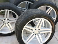 Summer tires with Mags Vaudreuil-Dorion