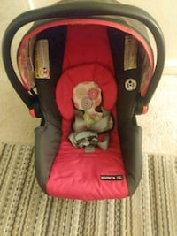baby's red and black car seat carrier Fairfax, 22030