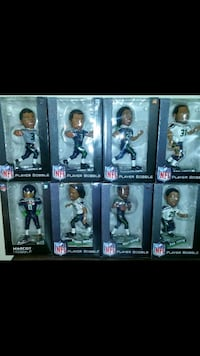 8 - Seattle Seahawks Super Bowl year Bobbleheads Kirkland, 98033