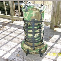 Navy SEAL spear backpack camo rucksack rare Schenectady, 12303