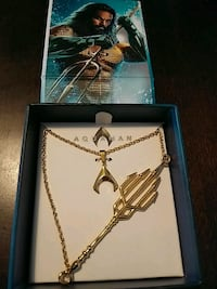 BRAND NEW DC AQUAMAN NECKLACE
