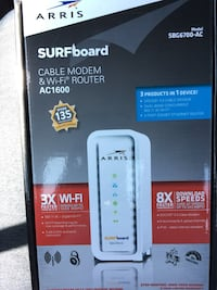 Arris Surfboard Cable Modem Router box Columbia, 21046