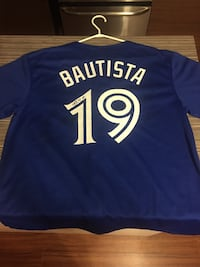 Jose bautista jersey signed by 7 players