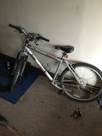 Jeep gray and black hard tail mountain bike Grand Rapids, 49503