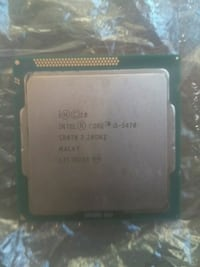 I5 3470 3.2GHZ LGA 1155 CPU INTEL PROCESSOR 540 km