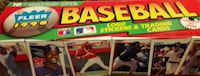 1990 Fleet Baseball Cards Complete Set  Cypress