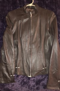 Jacket (Sanimo) Womens leather jacket