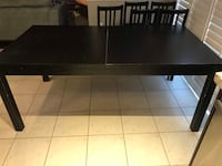 Ikea dinning table set with chairs  Brampton, L6R 0P7