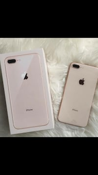 Silver iphone 8plus with box Raleigh, 27606