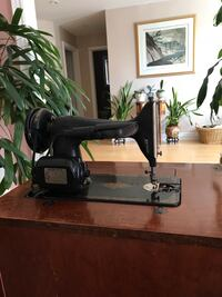 Antique Singer sewing machine from 1948