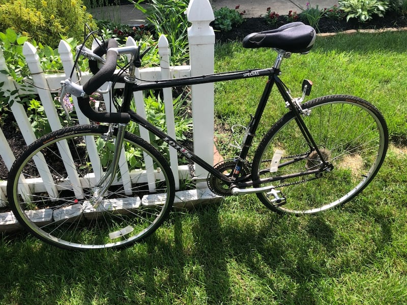 Lotus 10 speed bicycle with new tires  52826582-9ab7-451f-9cc5-783360285a60
