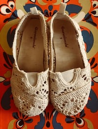 Cute Crocheted Toddler Girl Shoes 2282 mi