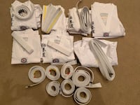 Family karate sets mostly brand new $40 everything in picture  Jackson, 08527