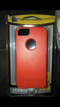 red Otter Box iPhone 5/5s Case Raleigh, 27616