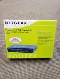 Netgear VPN Firewall switch NEW Pueblo, 81005