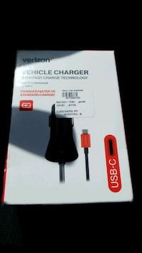 Verizon vehicle charger USB C new in box Schenectady, 12303