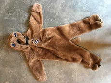 toddler's brown costume