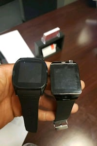 black and gray smart watch Capitol Heights, 20743