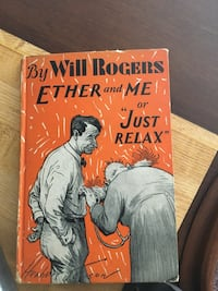 Will Rogers, book, ether and me. Broomall