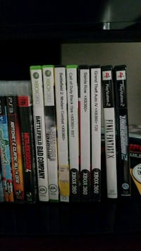 Xbox 360 games 8 each Centreville