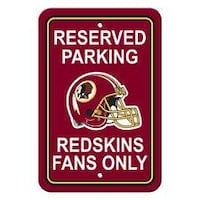 Reserved Parking Redskins Fans Only Sign, Or Best Offer  The Sign Is Like New.  (01) We Can Meet For You To Check It Out.  God Bless You.  Like And Share  FAYETTEVILLE